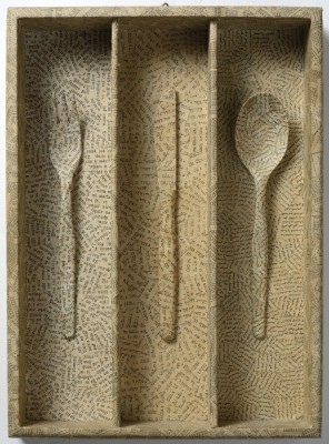 Object - drawer with cutlery (Reconciliation with the world)