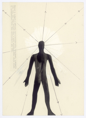 Return to a single basic architecture: the body (from the series Dreams of architecture)
