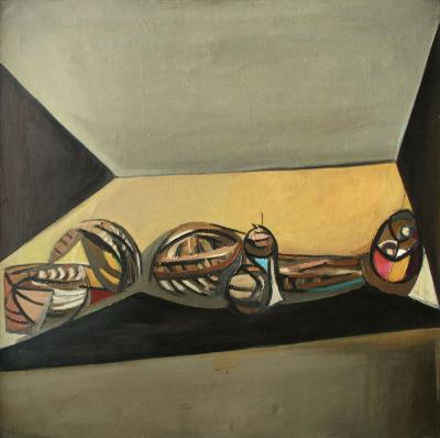 O.2703: Tadeusz Kantor: Still Life Figure